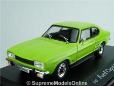 FORD CAPRI MK1 MODEL CAR 1/43RD SCALE LIME GLAZE COLOUR EXAMPLE BXD T3412Z(=)