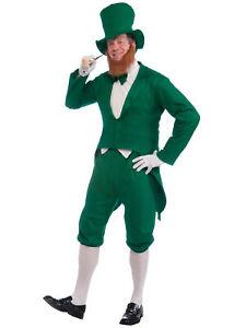 Leprechaun St Patrick's Day Oktoberfest Irish Party Dress Up Men Costume STD