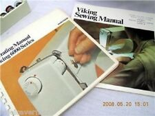 VIKING HUSQVARNA 6430 SEWING MACHINE MANUALS 2 books  on  CD / PDF