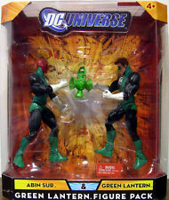 "DC UNIVERSE Collection_ABIN SUR & GREEN LANTERN 6 "" figures_Green Lantern 2 Pack"