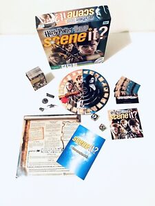 Harry Potter Scene It The Complete Cinematic Journey DVD Board Game Complete