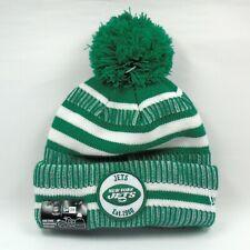 New Era Cap Men's NFL New York Jets On Field Sport Winter Knit Bobble Hat