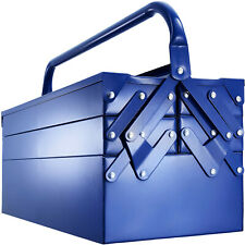 Metall Werkzeugkasten Werkzeugkoffer Werkzeugkiste leer Werkzeugbox 5 Fächer