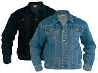 Mens Quality Duke D555  Denim Jacket S - 6XL