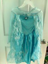 Frozen Elsa costume sz L 4-6X Halloween