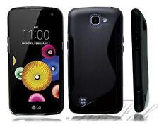 Fundas y carcasas LG color principal negro de silicona/goma para teléfonos móviles y PDAs