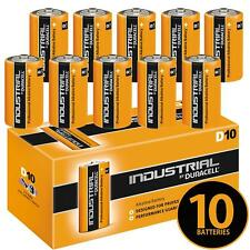 10X Duracell D Size Industrial Alkaline Batteries LR20 Cell MN1300 Mono Procell