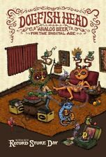 """Dogfish Head Analog Beer Record Store Day 2018 Promo Poster - 14"""" x 21"""""""