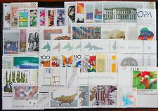 Germany Complete Year 1998 Stamp Set + C/Ds & Sheet Singles MNH German Stamps