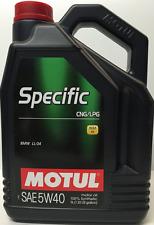 OLIO MOTUL SPECIFIC CNG GPL 5W40 5 LT 101717 SINTETICO MOTORE GAS AUTO BMW LL 04