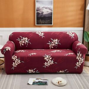 Stretch Sofa Covers for Corner Sofa Arm Chair  Elastic Printed Couch Covers