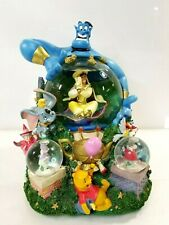 Disney Share A Dream Come True Snowglobe Parade Aladdin Whole New World Genie#37