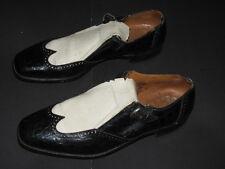 Vintage Johnston Murphy Golf Shoe Phillips Spike Aristocraft Alligator 12 B/Aa