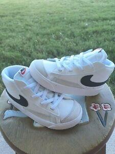 Nike Blazer Mid '77 White/Black BRAND NEW Toddler 10C