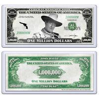 John Wayne The Duke One Million Dollars Bill Note