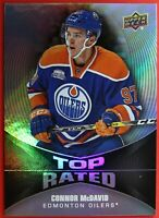 1016-17 Upper Deck ,  #TR-1 Overtime  CONNOR McDAVID TOP RATED,