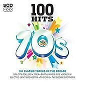 Various Artists - 100 Hits (70's, 2007) 5 cds new and sealed