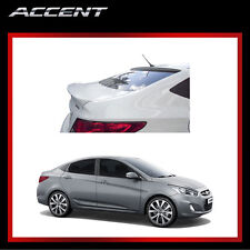 Rear Trunk Wing Spoiler for 2012 - 2013 Hyundai ACCENT 4door Phantom Black Color