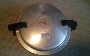Vtg Mirro Matic 12 Quart Pressure Canner Cooker Aluminum Untested