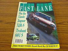 Fast Lane Magazine: June 1990: Jaguar XJR-S, Trabant 601 S
