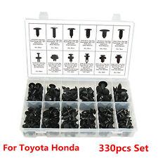 330pcs Clip Automotive Push Pin Retainer Assortment Kit For Toyota Honda GM Ford