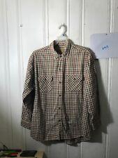 86f30c4c21b Moose Creek клетчатая фланелевая рубашка мужская 2XL L s карманах A943