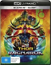 Marvel Cinematic Universe Thor Ragnarok 4K UHD Ultra HD HDR Blu-ray BRAND NEW