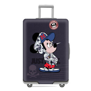 Travel Suitcase Covers Set Minnie and Mickey Mouse childrens Disney Suitcases