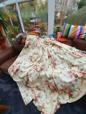 Pair Of Dorma Curtains 66 In W X70 D Each,roses
