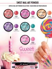 Mia Secret SWEET NAIL ART POWDER 6 Colors - Nail Acrylic Powder- Pink, Purple