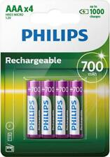 4x AAA RECHARGEABLE BATTERIES 700mAh COMPATIBLE WITH SIEMENS GIGASET PHONE