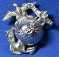 Spanish American War Pre-1898 USMC EGA Hat Badge TWO WIRES FOR ATTACHMENT