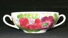 Simpsons Pottery England Belle Fiore Suppentasse 12,5 cm Dm handgemalt