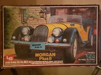 Vintage LS Auto Salon Series No. 1 Morgan Plus 8; 1:16 Scale Model Car Kit RARE