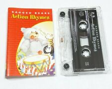 CHILDRENS NURSERY ACTION RHYMES AUDIO CASSETTE NEW RAGGED BEAR MUSIC MAN HOKEY