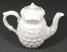 Copeland Spode Porcelain Pineapple Teapot Coffee Pot EUC