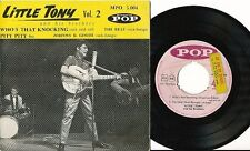 LITTLE TONY EP FRANCE JOHNNY BE GOODE ROCK BOOGIE