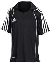 adidas T8 Polo-Shirt schwarz Kinder Jugend Sportpolo Gr. 152 - P96403
