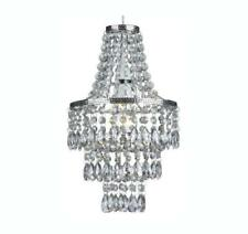 3 Tier Clear Acrylic Beaded Chandelier  Lampshade