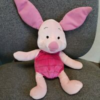 2002 Mattel Fisher Price Soft N Silly Piglet Winnie Pooh Plush Stuffed Animal