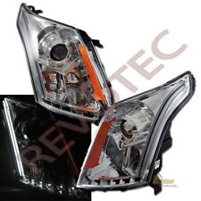 2010-2016 Cadillac SRX LED Strip Chrome Projector Headlights 11 12 13 14 15