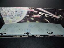 VTG~1977~1978~Kenner~Star~Wars~figure~Display~Stand~luke~stormtrooper~leia~r2d2~