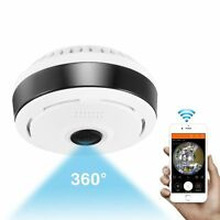 1080P 360° Panoramic Fisheye Wifi Baby Pet Monitors LOT Mini IP Security Cameras