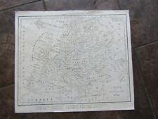 1821  ORIGINAL Map of Europe