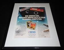 Iron Tank Lee Trevino Golf 1989 NES Nintendo 11x14 Framed ORIGINAL Advertisement