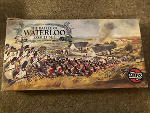 Airfix Battle Of Waterloo Assault Set With Additional Figures