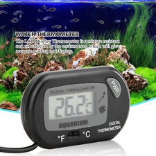 1Set Aquarium Digital Lcd Fish Tank Water Meter Thermometer Kit With Suction Cup