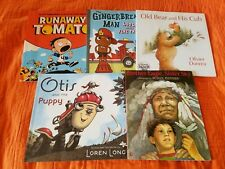 Picture Books (Lot 5) Brother Eagle Sister Sky, Otis and Puppy, Runaway Tomato,