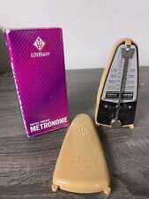 Wittner Taktell Wind Up Piccolo Metronome 835 - Light Brown - TESTED/WORKS