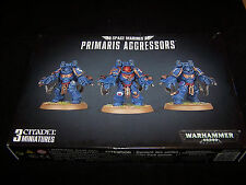 Primaris Aggressors Boltstorm Gauntlets and Fragstorm Grenade Launcher (bits)